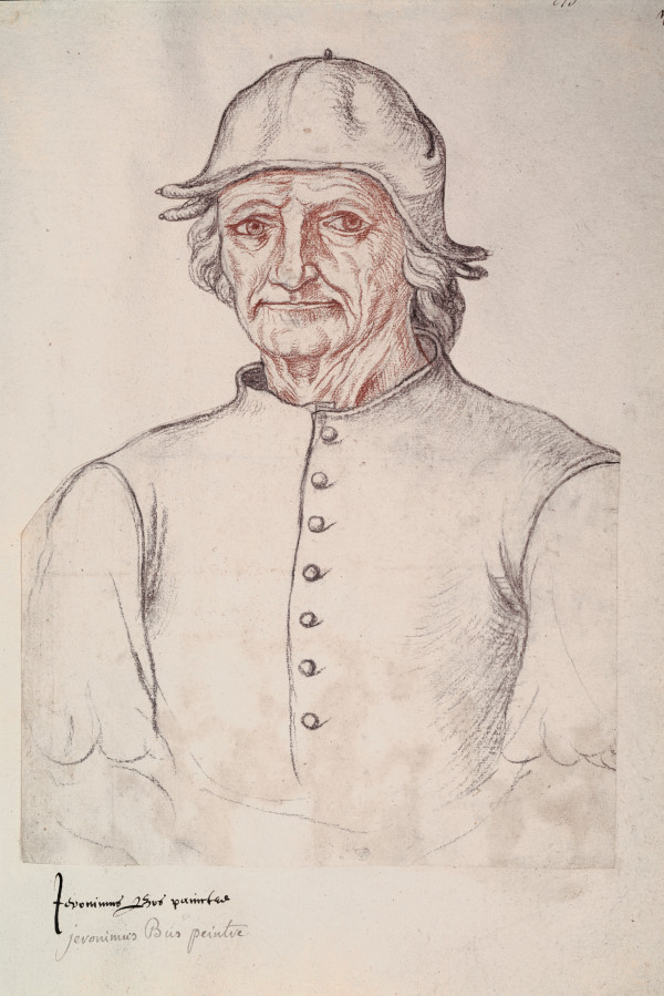 Portrait of Bosch, attributed to Jacques Le Boucq d'Artois