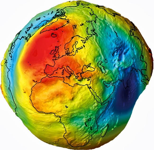 Rotationsellipsoid Erde